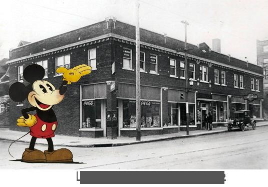 Les Studios du dessinateur Disney en 1922