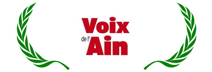 Logo de la Voix de l'Ain, entreprise de presse du 01