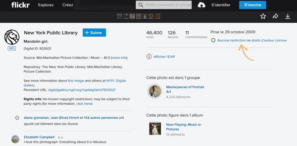 Flickr une banque d'image gratuite et un réseau social