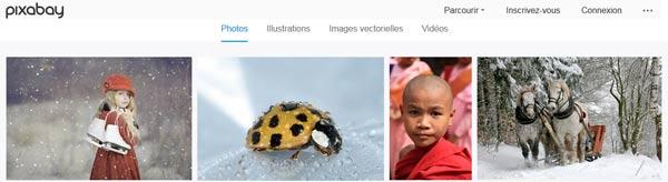 Pixabay sans doute la meilleure banque d'images libres de droits gratuite